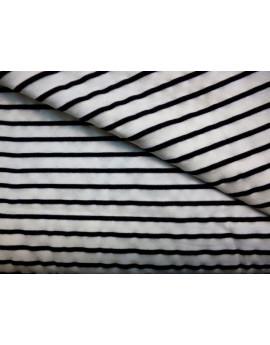 Tissu Tulle Rayure T-Shirt 99