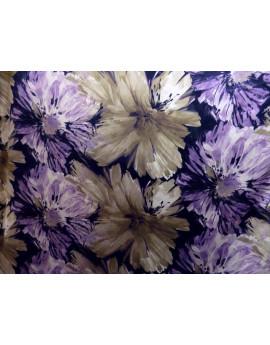 Tissu Satin Polyester Imprimée 93