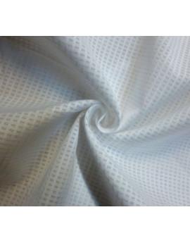 Tissu Voile de Coton Blanc 80