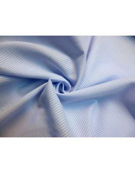 Tissu Voile de Coton Bleu Pâle 79