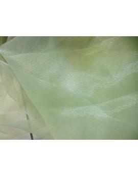 Tissu Organza Vert d'eau x 280 largeur