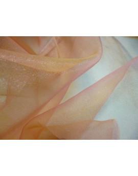 Tissu Organza orange x 280 largeur