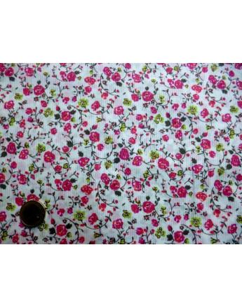 Tissu Coton Imprimée des Fleurs 72
