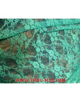 Dentelle Lycra Vert d'eau