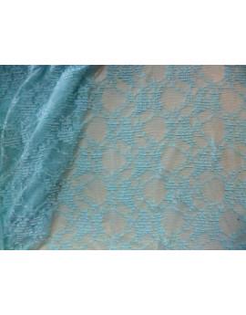 Dentelle Lycra Turquoise 87
