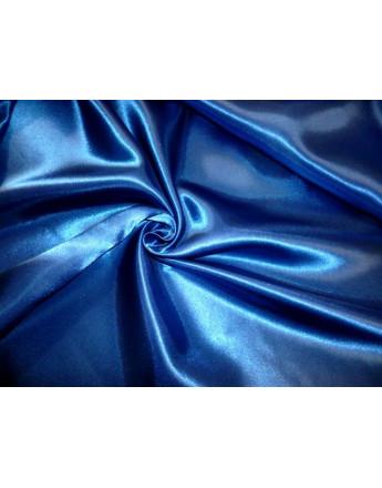 Doublure Satin Bleu électric