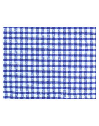 Vichy Petits Carreaux Bleus Gitanes