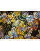 Tissu Mousseline de Soie Imprimé Fleurs 65