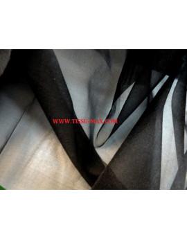 Tissu Organza Noir 99