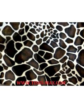 Tissu fausse fourrure girafe A99