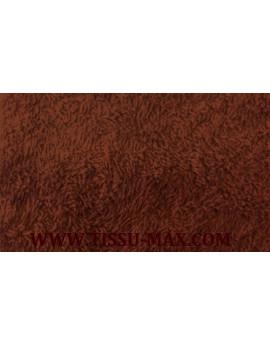 Tissu eponge marron