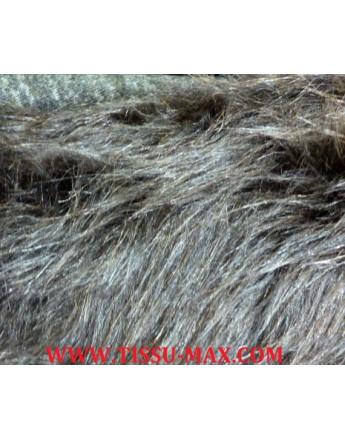 Tissu Fausse Fourrure Poils Longs G02