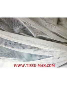 Tissu tulle très souple blanc cassé