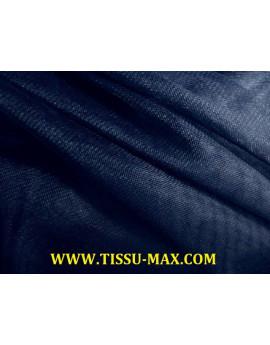 Tissu tulle très souple bleu nuit
