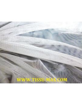 Tissu tulle très souple blanc