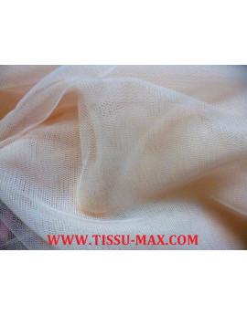 Tissu tulle très souple rose très pâle