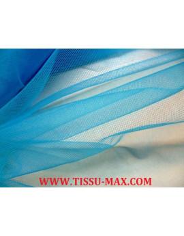 Tissu tulle souple turquoise