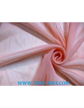 Tissu tulle très souple corail
