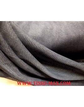 Tissu tulle très souple noir
