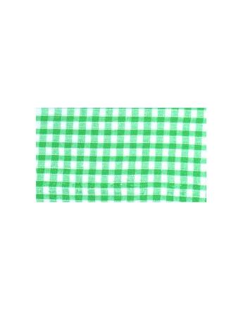 Vichy Petits Carreaux Verts Clairs