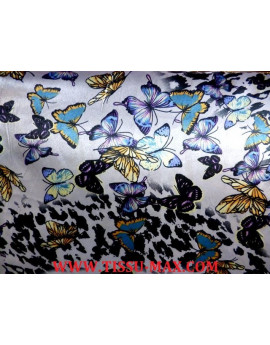 Tissu Satin Polyester Imprimée 88