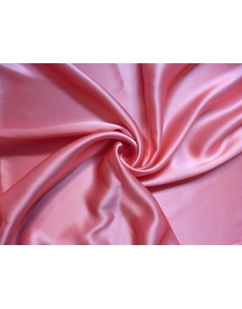 Tissu Satin de soie Or