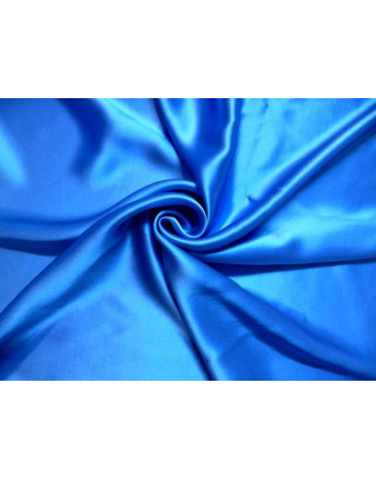 Tissu Satin de soie Corail