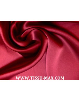 Tissu Satin de soie Bleu Roi