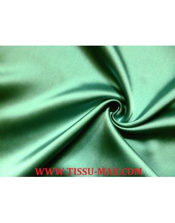 Satin Duchesse acetate vert