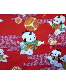 Tissu Coton Enfant Bébé