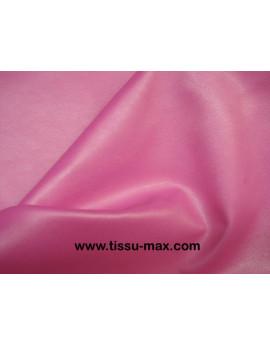 Tissu Simili Cuir Souple Rose S 05
