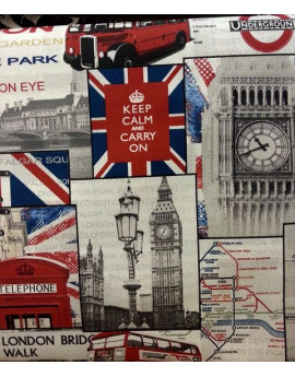 Tissu Ameublement Vintage Angleterre