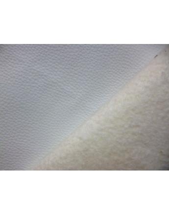 Tissu Simili Cuir Rigide Blanc Ri 11