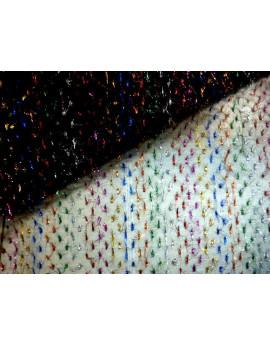 Tissu Polyester Charleston Blanc 013