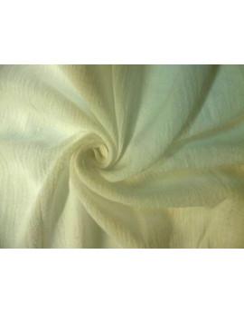 Tissu Crépon Blanc