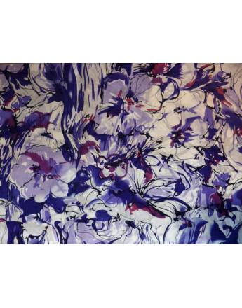 Tissu Coton Imprimé Fleurs d'été M12