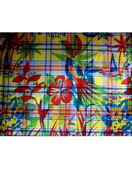 Tissu Madras Exotiques 17