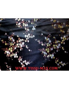 Tissu Chinois Dragon Turquoise
