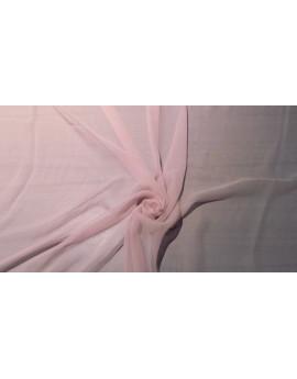 Tissu tulle très souple rose pâle N°2