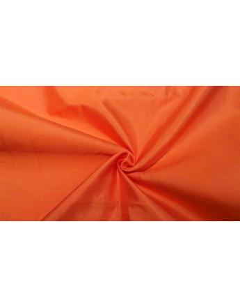 Tissu Soie Sauvage Orange