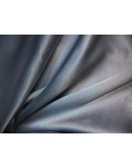 Tissu Satin de soie gris clair