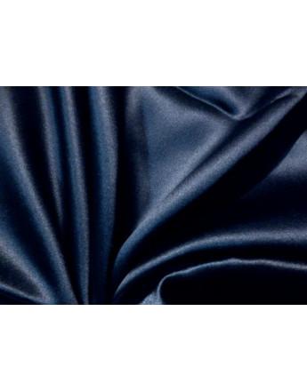 Tissu Satin de soie gris foncé
