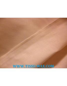 Tissu coton uni rose chairs