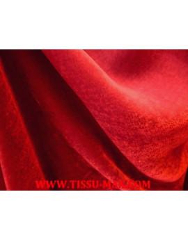 Tissu Velours de Soie Turquoise