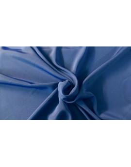 Tissu  Polyester Bleu 06