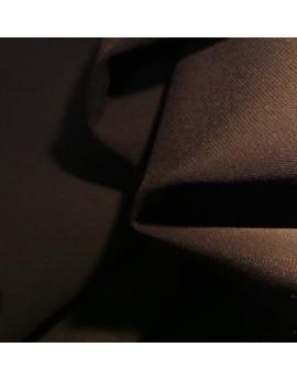 Tissu 100% Polyester Marron foncé
