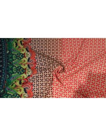 Tissu 100% Polyester imprimé 09