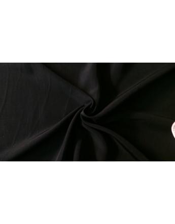 Tissu Polyester Noir 02