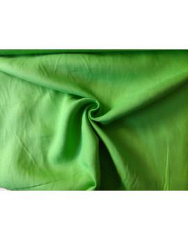 Tissu Polyester Vert Pomme