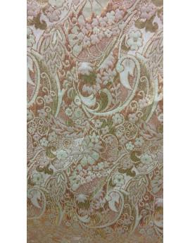 Tissu Brocart Fleur 001